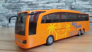 Bus for Kids: Unboxing Toy MAN BUS SIKU BUS Video for Kids