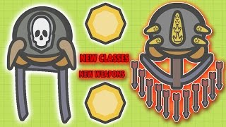MOOMOO.IO EPIC 2 NEW CLASSES & 2 NEW WEAPONS & 2 NEW HATS UPDATE! Samurai & Crossbow! (MooMoo.io)