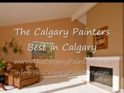 the calgary painters interior exterior painting services youtube