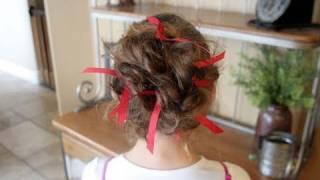 Messy Bun Holiday Bobby Pins | Cute Girls Hairstyles