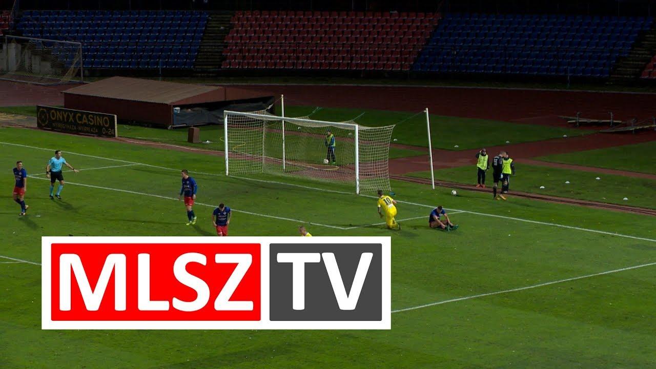 Nyíregyháza Spartacus FC - Aqvital FC Csákvár |1-0 (0-0) | Merkantil Bank Liga NB II.| 15. forduló |