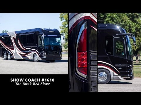 Newell Coach #1610 - Bunk Bed Show Coach