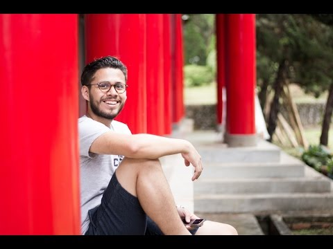 Ricardo Diaz (El Salvador) Studying at Tamkang University
