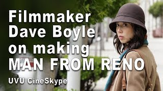 "Gambar cover Filmmaker Dave Boyle on making ""Man from Reno"" - UVU CineSkype"