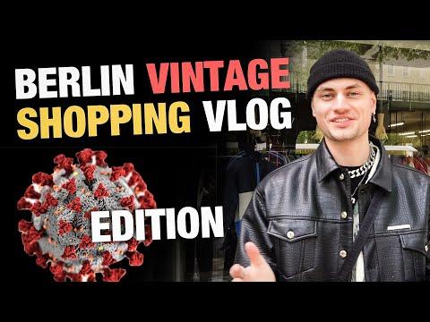 BERLIN VINTAGE SHOPPING VLOG   Corona Edition   Vintage Pickups