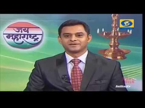 """Dr  Sandip Mane Interview on tv channel """"Sahyadri"""""""