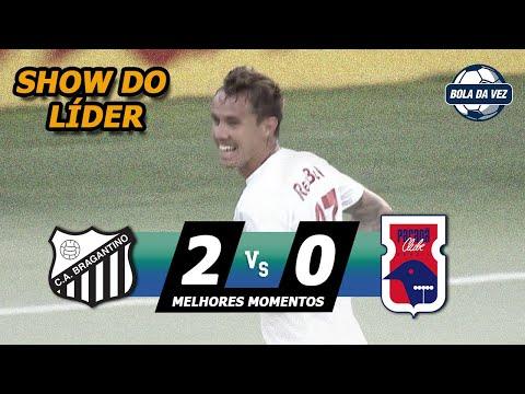 Bragantino 2 x 0 Paraná - Gols & Melhores Momentos (HD) Brasileirão Serie B - 12/10/19