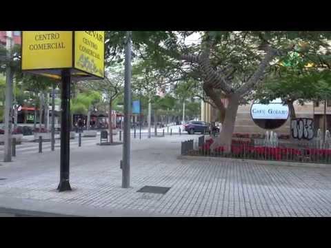 (4k) Streets and Feel of Santa Cruz de Tenerife, Spain (Sony FDR-100AX)