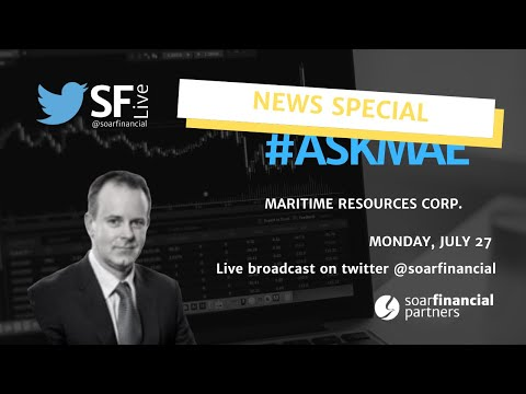 SF Live Breaking News Special - Maritime Resources Corp.
