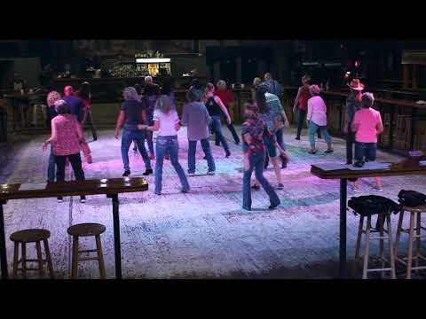 DOWN TO THE HONKY TONK LINE DANCE BY PAM WINGO - 10/10/18