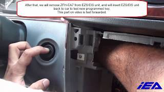 Mercedes-Benz Key Programming Procedure onto EA Key - Removing EZS Box