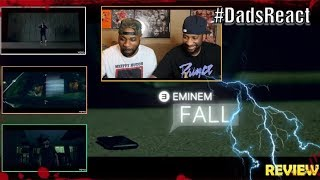 DADS REACT | EMINEM x FALL VIDEO | REACTION & BREAKDOWN | WE KNOW WHO
