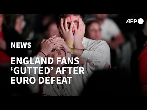 Euro 2020: London fans 'gutted' but 'proud' after England lose final to Italy   AFP