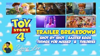 TOY STORY 4 - Trailer Breakdown, Easter Eggs, Things You Missed Explained