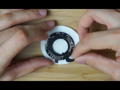 Canon FD 50mm f1.4: Full aperture disassemble