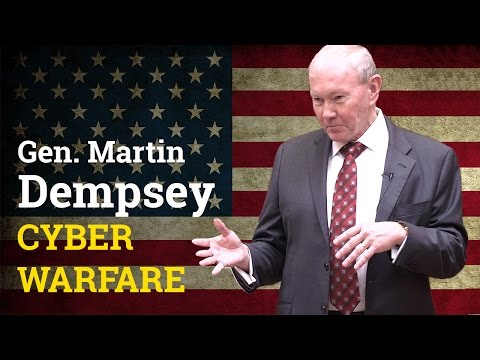 What exactly is a Cyber Attack? | General Martin Dempsey (2017)