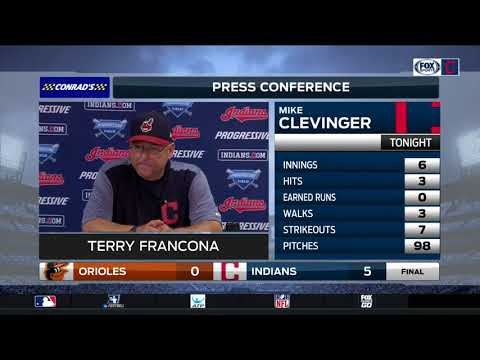 Cleveland Indians manager Terry Francona knows team isn't getting swept up in hype over streak