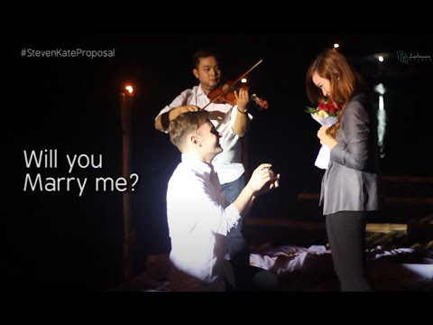 Ilocos Best Romantic and Touching Wedding Proposal Ever - Steven and Kate