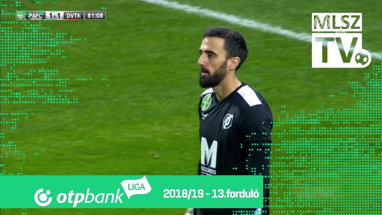 Puskás Akadémia FC - DVTK | 2-1 (0-0) | OTP Bank Liga | 13. forduló | 2018/2019