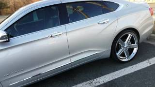 Impala lt  2016 22 rims