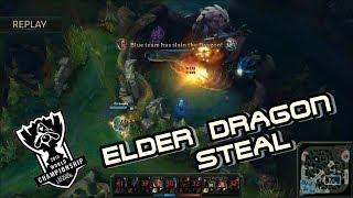 Epic Elder Dragon Steal World Championship Finals | NA LCS, SKT vs SSG , SSG vs TSM , H2K vs EDG
