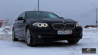 BMW 5 (528i) F10 Тест-драйв(Съемки и монтаж данного видео осуществлял оператор RecOnMe https://vk.com/vorobavideo Встречайте! Тест-драйв BMW 5 series в кузо..., 2016-01-04T09:00:03.000Z)