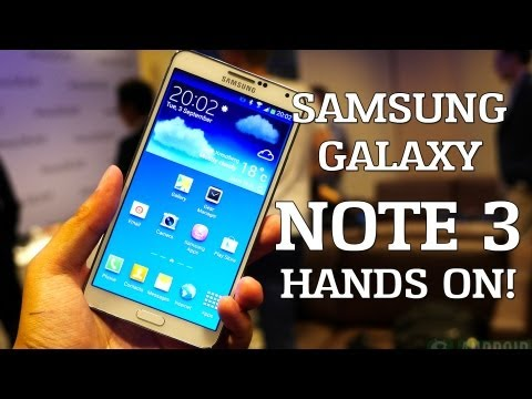 Galaxy Note 3 release date – are you ready?