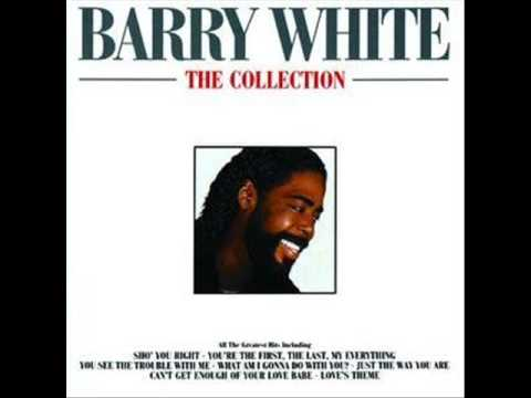 BARRY WHITE - JUST THE WAY YOU ARE LYRICS