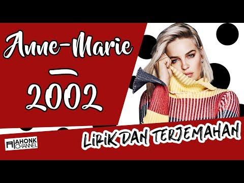 AnneMarie  2002 Lirik dan Terjemahan Indonesia