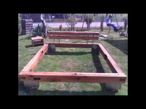 Bett selber bauen m chten sie ihr eigenes bett zu mach for Balkenbett bauen