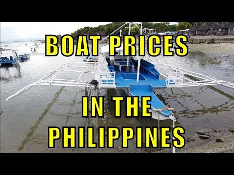 Boat Prices In The Philippines.