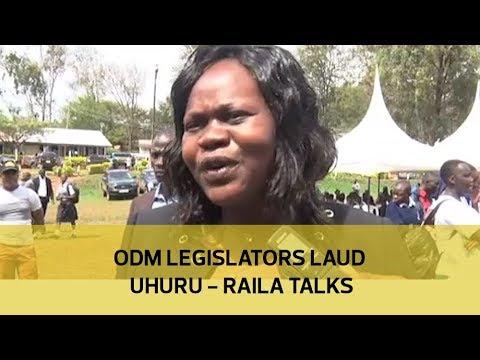 ODM legislators laud Uhurur - Raila talks