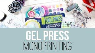 Gel Press | Monoprinting für Anfänger