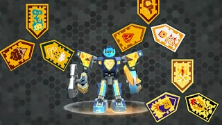 Лего Нексо Найтс комбо-щиты 17 часть/ Lego Nexo Knights Battle Suit Triangulator Combo Power Shields