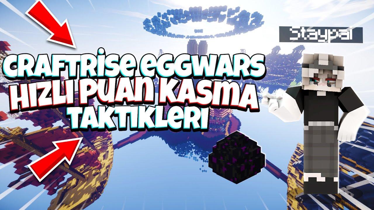 TÜRK SERVERINDA EGG WARS! (CraftRise)