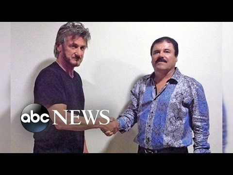 Sean Penn Had Secret Meeting With 'El Chapo' Guzman