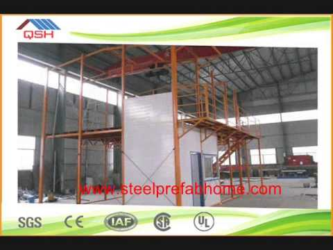 Marvelous Light Steel Frame Sandwich Panel Roof And Wall Steel Structure Warehouse  And Garage And Carport