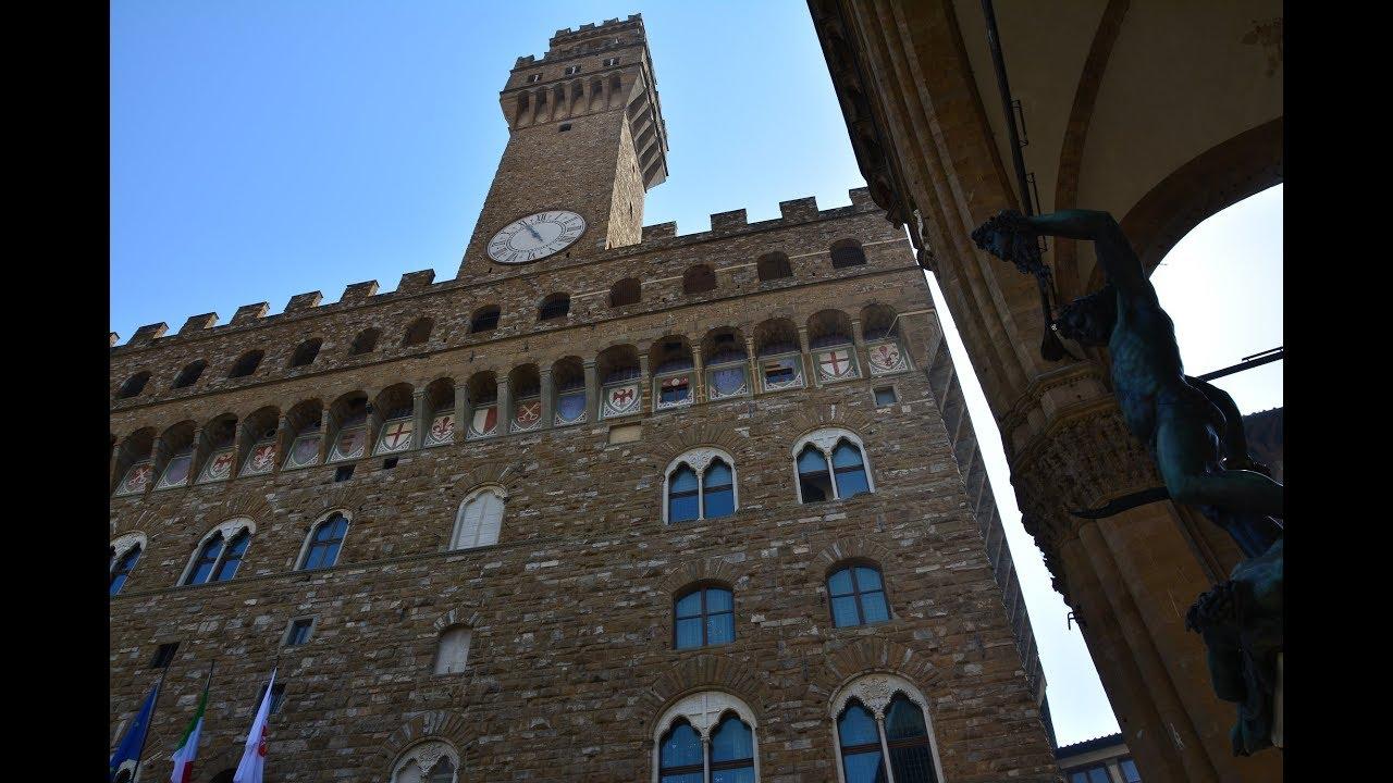 Флоренция. Палаццо Веккьо - YouTube