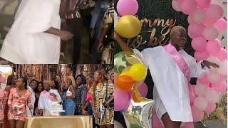 Pregnant Fella Makafui Dance To Celebrate Baby Shower