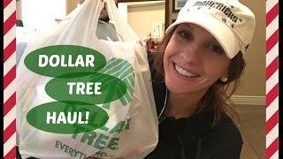 DOLLAR TREE HAUL!!! | November 2015