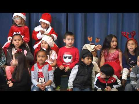 Rafer Johnson State Pre-K Winter Celebration Performance 2016