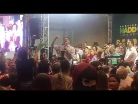 (VÍDEO) Cid Gomes: 'Lula o quê? Lula tá preso, ô babaca'