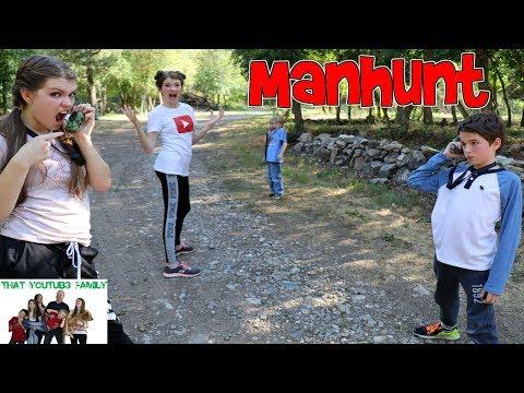 MANHUNT GAME / That YouTub3 Family  
