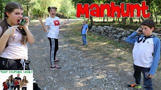 MANHUNT GAME / That YouTub3 Family