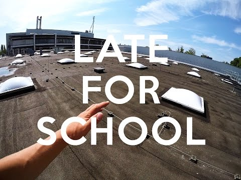 LATE FOR SCHOOL PARKOUR - POV