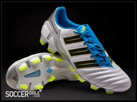 size 40 13bbf e38c1 NEW 2011 white colourway adidas adipower Predator Football Boots -  White Blue Electricity