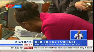 IEBC hands over the controversial forms 34A's and B's to the Supreme Court