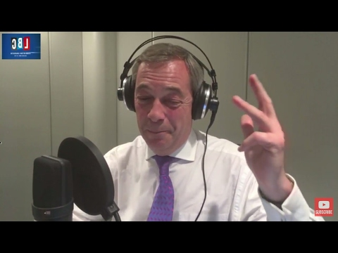 The Nigel Farage Show: Scottish Independence & Brexit. Live LBC 13th March 2017