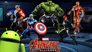 [Gratis] - Marvel: Avengers Alliance 2 Gameplay - Juegos Android - iOS -  APK