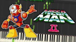 Megaman 2 Metal Man Theme Piano Tutorial Synthesia